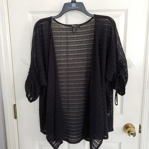 Style & Co. Black Light Weight Sweater Size 2X